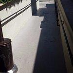 Handicap ramp.
