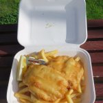 Beer-battered Bronzie & Chips
