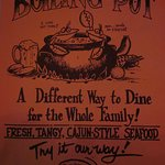 The Boiling Pot Menu