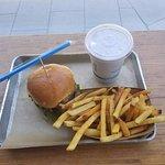 Burger, Shake and Fries