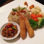 Thai chilli paste fried rice