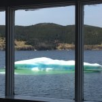 Icebergs right outside the door!