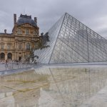 The Louvre is a short walk away