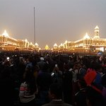Beating the retreat ceremony after Republic Day Parade