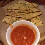 Garlic Flatbread (HIGHLY recommend. Bread was soft and HOT)