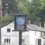 Cwellyn Arms sign