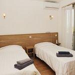 chambre climatisée confort avec terrasse