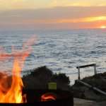 When the suns sets on Down Under, Dongara the fire pit lights up for bonhomie and travel tales s