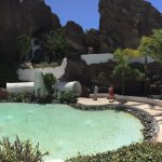 La piscina principal de la casa