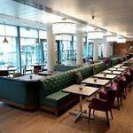 Recess located Hilton Garden Inn Brindleyplace Birmingham