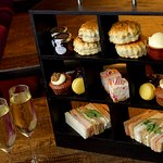Afternoon Tea with Prosecco  £14.95 at Recess located Hilton Garden Inn Brindleyplace Birmingham