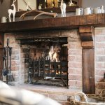 The White Buck - sink into one of our comfy sofas by the fire