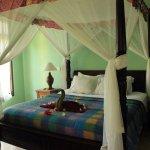 Bedroom in three bedroom villa