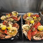 Shellfish platters - when one just won't do.
