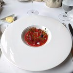 Duck and Blood orange jelly starter