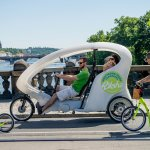 Riksha Prague - Eco-friendly Sightseeing and transfers in Prague.