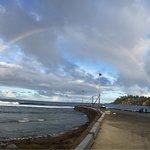 Rainbow looking towards the Pier