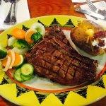 my tender juicy steak!