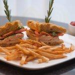 Chicken Sandwich - Marco Polo's Bar, Lounge & Restaurant at Viana Hotel & Spa
