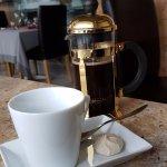 un excellent café.... bien présenté !