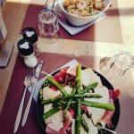 Salade bobun et salade comme a Biarritz un régale !