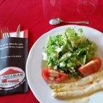 Asperges salade