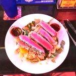 Asian Yellowfin Tuna Salad (large tuna portion)