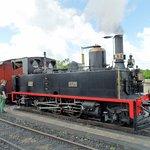 Raccordement de la locomotive