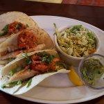 Mahi Tacos Slaw Guac