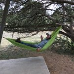Plenty of room for a hammock