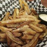 Parmesan Garlic Fries - Yum!