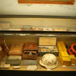 various medical equipment and hardware (the island had it's own ambulance system)