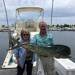 Jimmy Bailey an mate Bonnie laid back great people who get you fish.  Ask Jimmy to do the fish d
