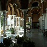 The lovely reception area at La Bobadilla.