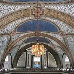 Tiffany mosaic ceiling in the east atrium