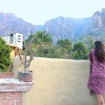 """Vista de nuestra terraza - Bungalow """" El Palomar """""""