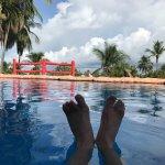 The pool at Los Mangos