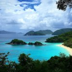 Trunk Bay from view point