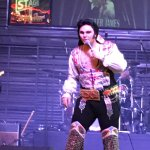 Great Elvis show. Fremont Street is not for kids!!!!