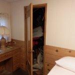 'Closet' in bedroom