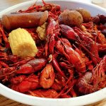 Look at all this crawfish!