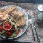 gourmet salad & sandwich