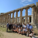 Group Photo in Paestum Italy
