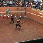 Kalari show performed by Kadathanadan group in Thekkady