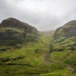 photo stop in Glencoe, Scotland