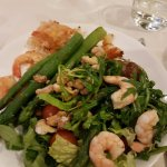 168 Restaurant: My Salad and Shrimp Plate