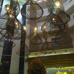 Enjoying the ambiance at marigold Hotel!