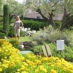 Jardins de ervas da Provence no Hotel Aquabella