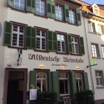 Historische Weinstube Witter - heute Restaurant Rouge   Historic house Witter - today restaurant