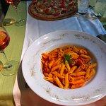 Gluten free pasta arrabiata!
